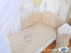 MY SWEET BABY Bettwäsche Set 2-tlg- Chic beige